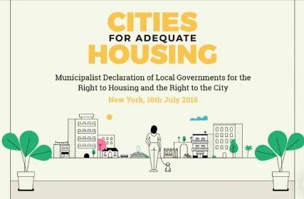 Ciudades por la vivienda adecuada