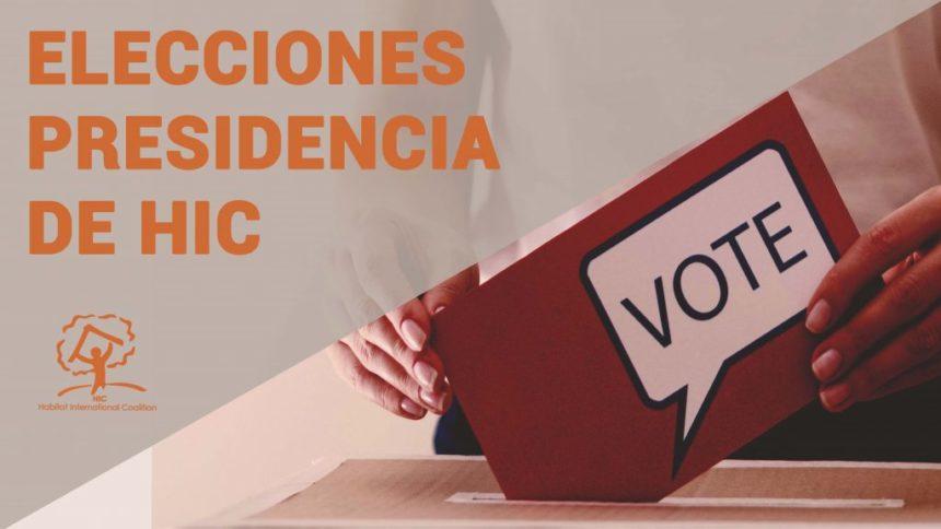 Resultados de las elecciones para la presidencia de HIC