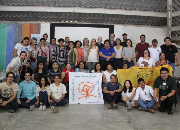 Declaración Final del IV Encuentro Regional del Grupo de Trabajo de Producción y Gestión Social del Hábitat de HIC-AL