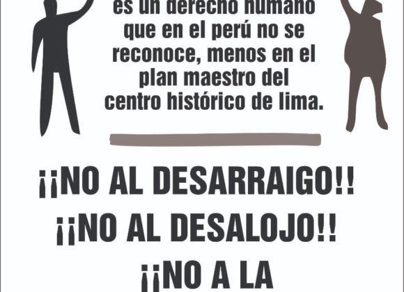 Perú: Vecin@s de Lima por el Derecho a la Vivienda