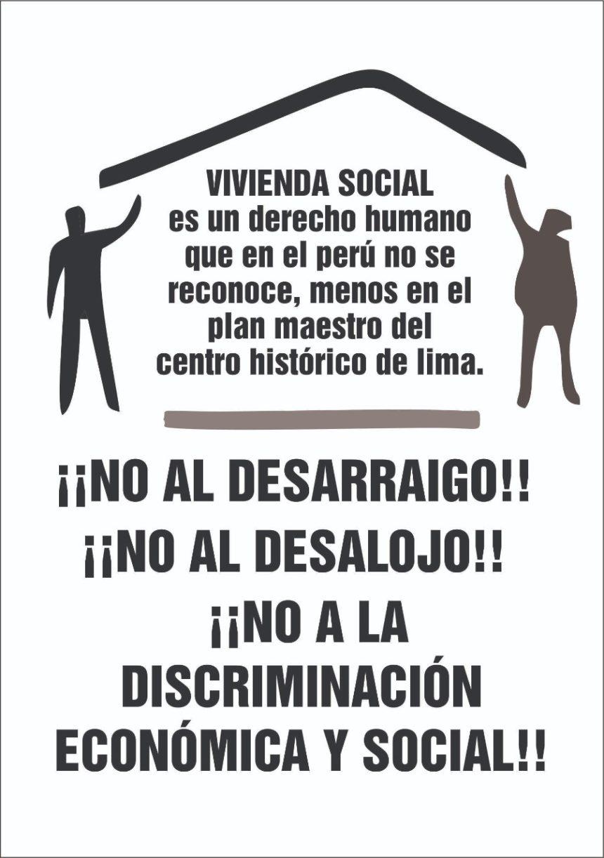 Perú – CIDAP: Vecin@s de Lima por el Derecho a la Vivienda