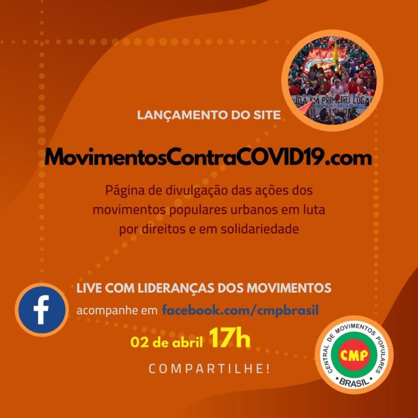 Brasil – CMP: Movimentos populares urbanos lançam site para fortalecer ações de solidariedade nas periferias e a luta por direitos