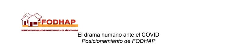 Guatemala – FODHAP: El drama humano ante el COVID