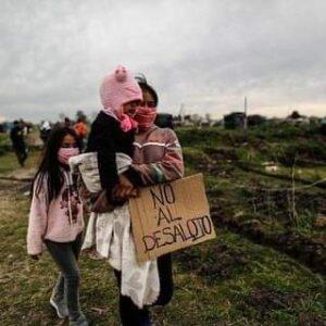 Repudiamos el desalojo violento en Guernica, Provincia de Buenos Aires, Argentina